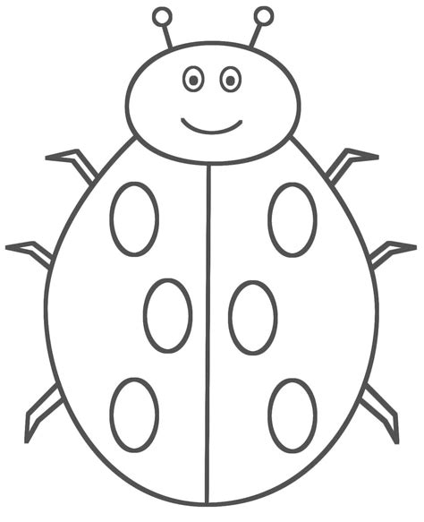 bug coloring pages for toddlers incridible bug coloring pages ladybug coloring pages
