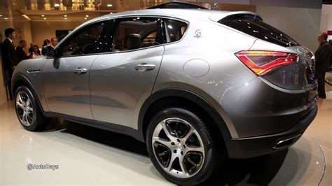 2015 Maserati Kubang Suv Concept Preview Youtube