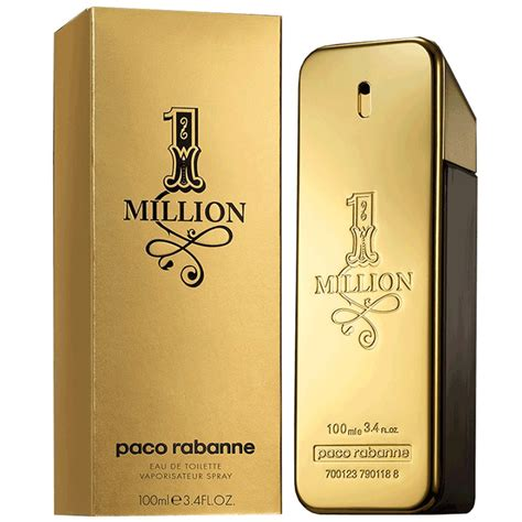 Paco Rabanne One 1 Million 50ml Parfum Pria Original Reject Prancis one million de paco rabanne en tunisie vente one million