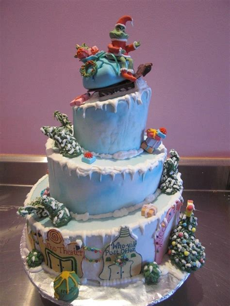 Grinch Decorating Ideas by Grinch Cake Cakes Pinterest