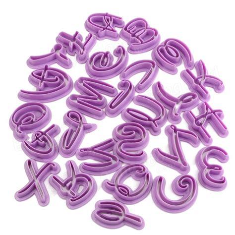 lettere plastica 26pcs alfabeto di plastica dello sto lettera cookie