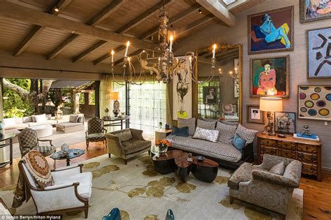 Hidden Backyard Pool Sela Ward Lists 40m Bel Air Mansion Complete With