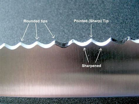 how to sharpen serrated kitchen knives sharpening serrated edges kitchen knife forums