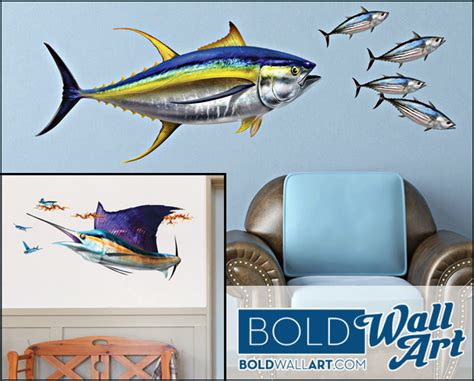 boat lettering fish introducing sport fish wall art decals marine logos