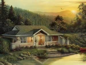 Berm Homes Plans Woodhaven Cabin Lodge House Plan Alp 09hk