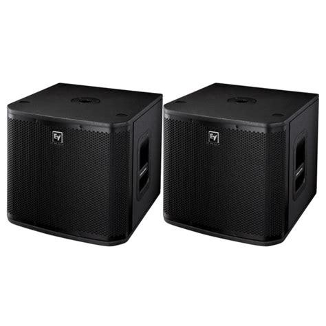 Speaker Vocal electro voice zxa1 90b speakers zxa1 sub subs package