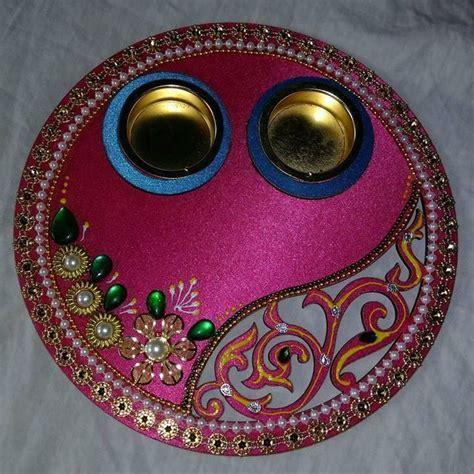 Pooja Ki Thali Decoration for Diwali   Pooja Thali   POOJA