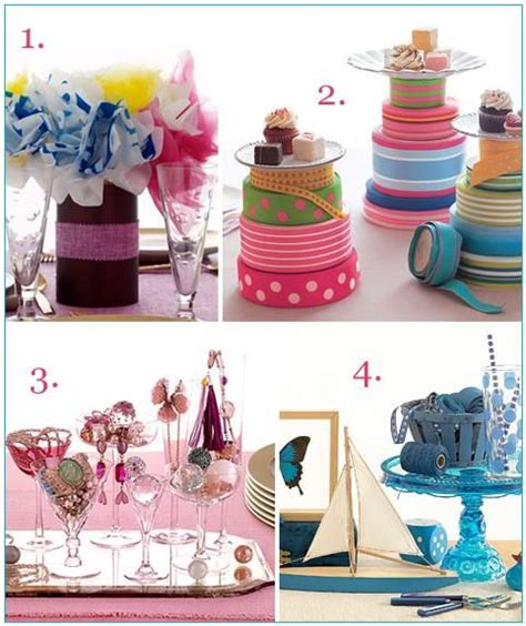 bridal shower centerpieces ideas hostess with the mostess pretty bridal shower centerpiece ideas onewed