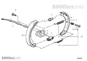 Bmw National Brake System Equipment Parking Brake Brake Shoes Bmw 3 E36 M3 S50 Europe