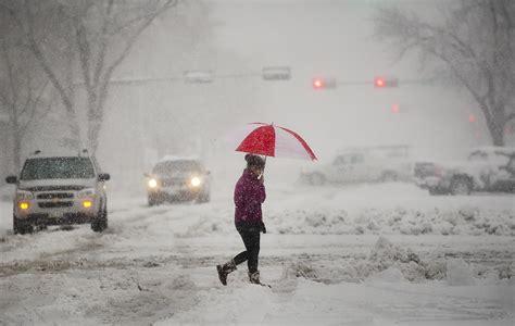 weather lincoln nebraska omaha ne blankets nebraska after dumping on colorado