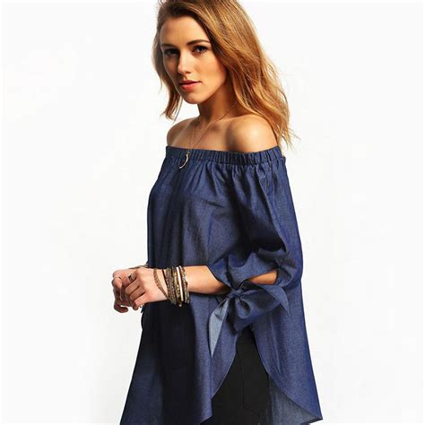 Blouse Fashion Import Jy776081 new fashion shoulder casual sleeve