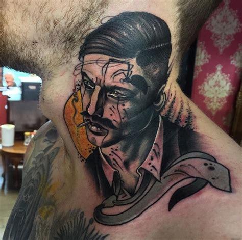 eclectic ink tattoo queen margaret drive neil dransfield tattoo artist the vandallist