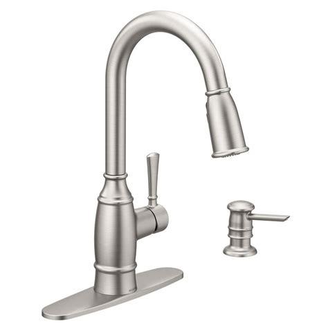 kitchen faucet moen moen coil faucet