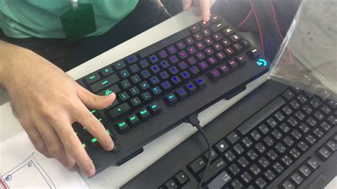 Keyboard Logitech G Pro Tkl แกะกล อง 2 logitech g pro mechanical keyboard