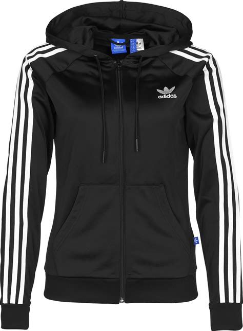Jaket Adidas Zipper By Snf2012 adidas slim fz w hooded zipper schwarz wei 223