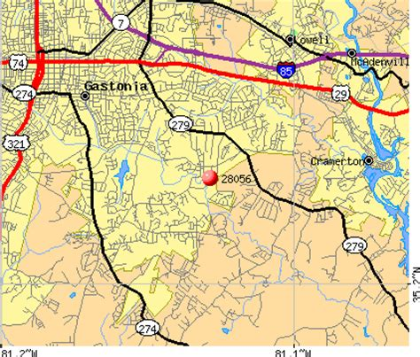 zip code map gastonia nc 28056 zip code gastonia north carolina profile homes