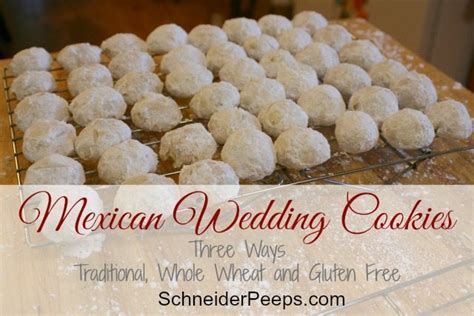 Mexican Wedding Cookies   SchneiderPeeps
