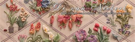 Di van Niekerk Silk Ribbon Embroidery