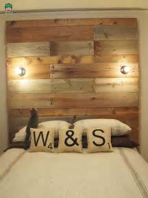 Reclaimed Wood Headboard Diy How To Make A Pallet Upcycle Bedhead Sika For Diy And Home Renovation