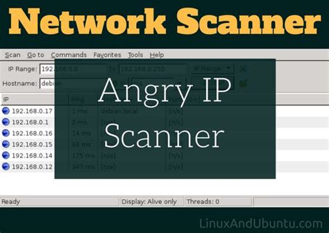 ip scanner how to use angry ip scanner network scanner