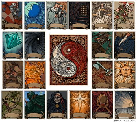 printable d d dice dnd 5e which deck of many things cards are depicted in