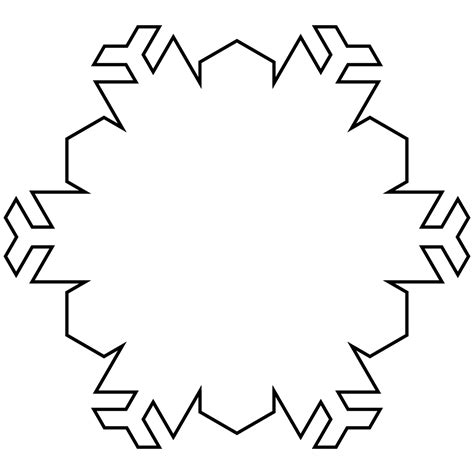 blank snowflake coloring page nature winter snowflakes coloring pages womanmate com