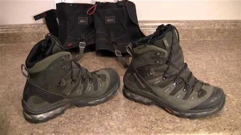 salomon quest  gtx boots part  youtube