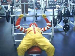 Average Bench Press By Weight And Age Mcdonalds Funny Fitness Quotes Quotesgram