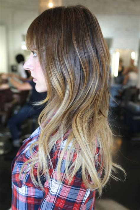 shoulder length hair with ombre pinterest 94 best images about subtle balayage ombre medium length