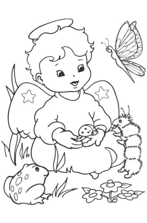 imagenes angeles navideños para colorear dibujoss de angeles para iluminar imagui