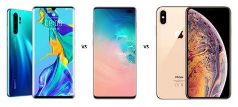 huawei p pro  samsung galaxy    iphone xs max fierce battle  flagships