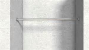 kleiderschrank ohne kleiderstange 7 montageanleitung edelstahl garderobenstange mit flansch