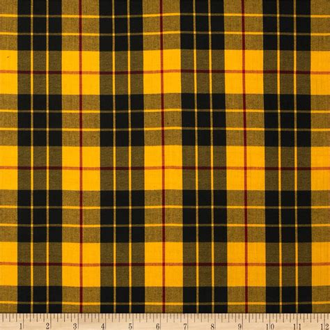 house of fabric kaufman house of wales plaid yellow discount designer fabric fabric com