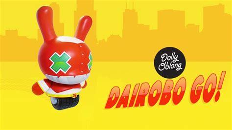 Go Oblong dolly oblong s quot dairobo go quot custom 20 quot dunny clutter