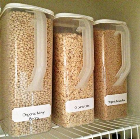 organized pantry bulk food storage food storage