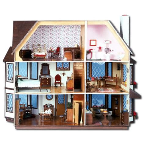 House Plans With Large Windows by Harrison Dollhouse Kit