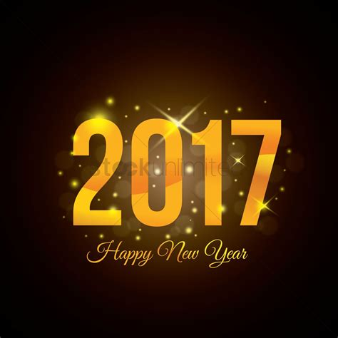 new year 2017 happy new year 2017 vector image 1913159 stockunlimited
