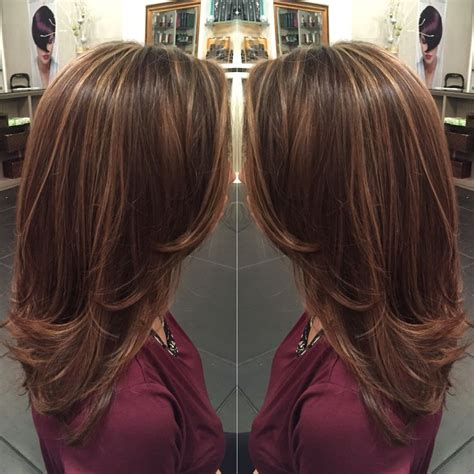what are low lights for women in 60 caramel highlights on light brown hair and mid length hair
