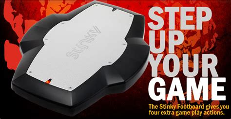 Stinky Footboard by Stinky Footboard Provides In Controls