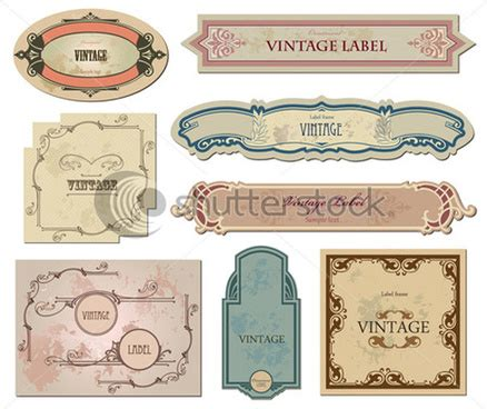 label design cdr free download free vintage label vector free vector download 12 887