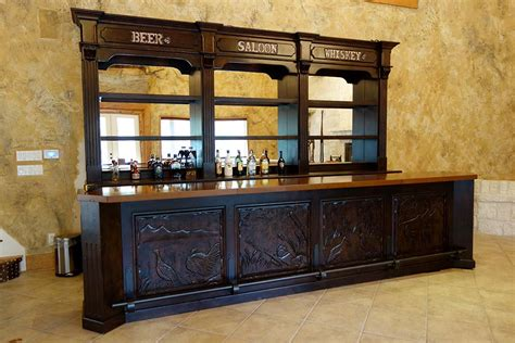 Home Design Stores San Antonio saloon bar ranch racks western wear and showcase cabinets