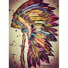 indian headdress tattoo on ribs indian headdress tattoo on ribs rib tattoos pinterest