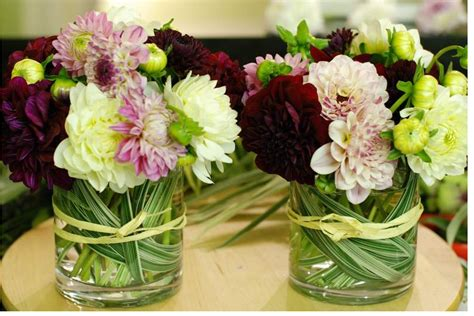small flower arrangements centerpieces modern small dahlia arrangements picture png
