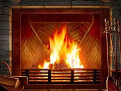 Computer Fireplace by Fireplace Screensaver