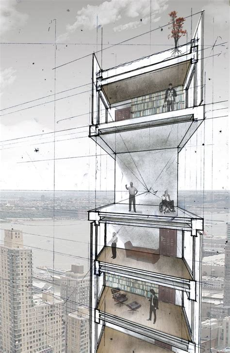 section drawing exles 25 best ideas about sectional perspective on pinterest