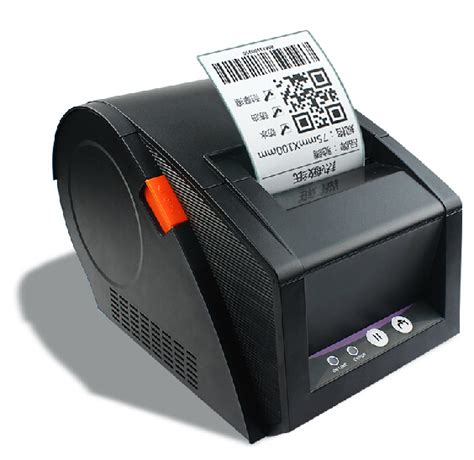 Printer Qr Code new 80mm barcode label printer 3120tu support qr code thermal sticker printers used for