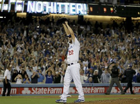 clayton kershaw threw   dominating  hitter  baseball history business insider