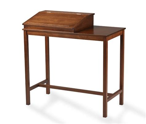 standing writing desk the maryland handcrafted hardwood standing writing desk