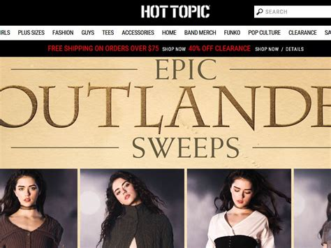 Hot Topic Sweepstakes - hot topic epic outlander sweepstakes