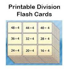printable division flashcards with answers 10 free printable math centers blank playing cards